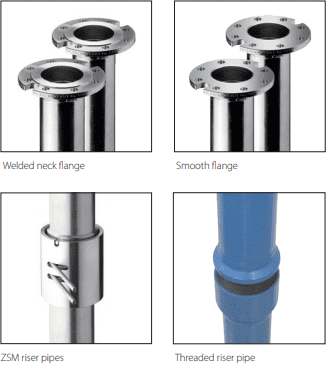 Riser Pipe Manufacturer and supplier