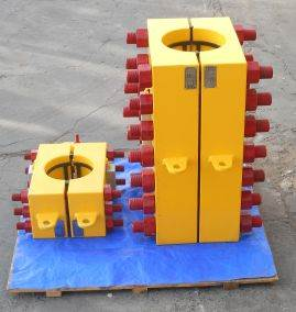 solid block bolted piperepair clamp Manufacturer