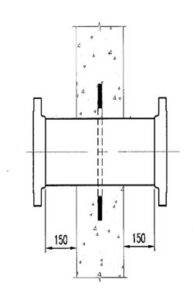 wall sleeve flange connection puddle flange collar